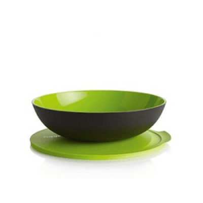 Чаша «Аллегро» (3.5 л) в коричнево-зелёном цвете
