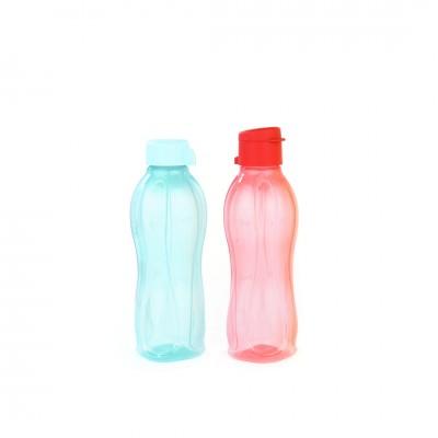 Набор эко-бутылок (500 мл) с клапаном и винтовой крышкой