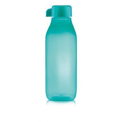 Эко-бутылка Квадратная 500 мл Tupperware бирюзовая