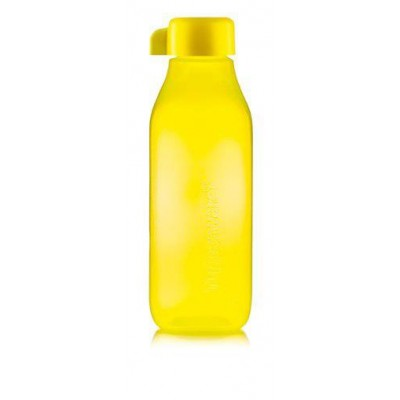 Эко-бутылка Квадратная 500 мл Tupperwareжёлтая