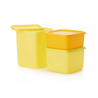 контейнеры кубикс Tupperware (Таппервер) подходят для хранения и транспортировки готовых блюд