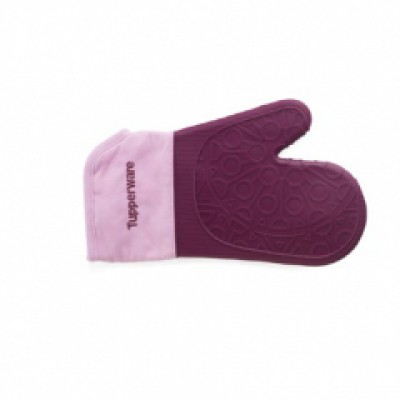 Силиконовая варежка-прихватка в фиолетовом цвете